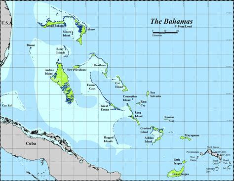bahamas on map maps of the bahamas loud