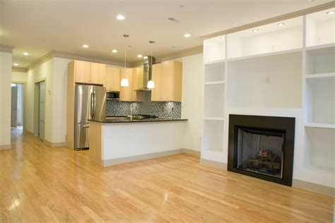 small kitchen ideas for basement with fireplace and wooden