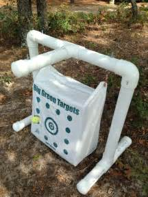 Pvc target stand for bowhunters archery pinterest