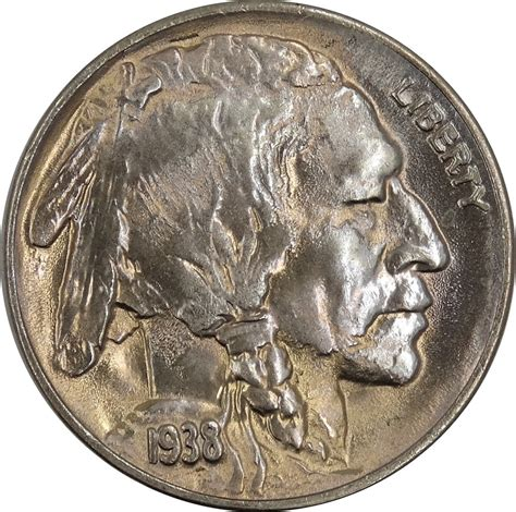 gotocoinauctions a coinzip company 1938 d buffalo nickel indian head