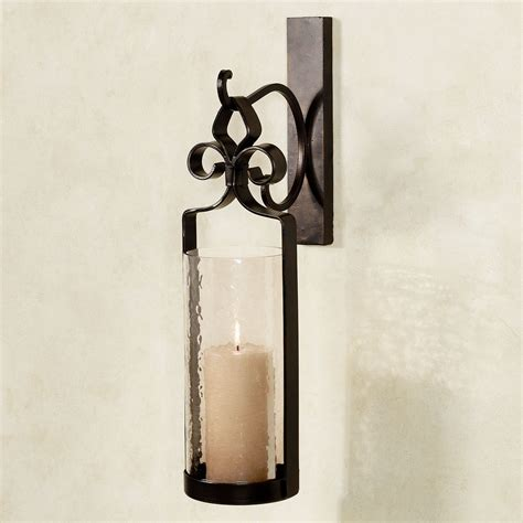 unique candle holders wall sconce for artistic room