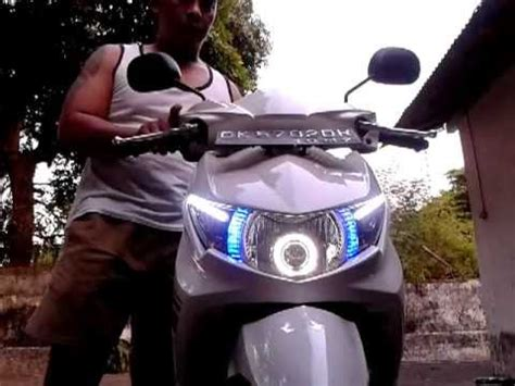 Lu Hid Xeon Gt 125 my yamaha mio soul gt with angle hid xenon projector how to save money and do it