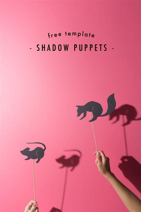 shadow puppets templates free printable shadow puppets quality time with the