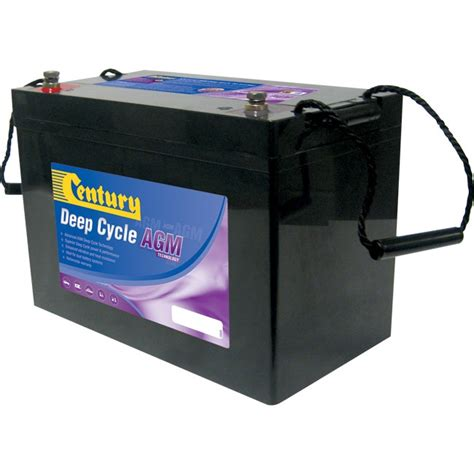 Absorbed Glass Mat Batteries by Century C12 120da 12v 120ah Absorbed Glass Mat Agm