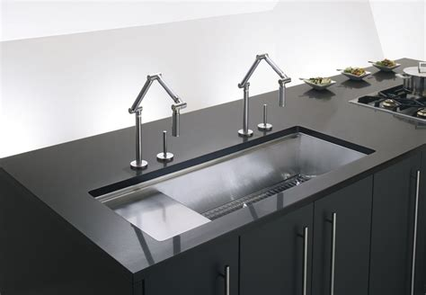 kohler stages kitchen sink faucet k 3761 na in stainless steel by kohler