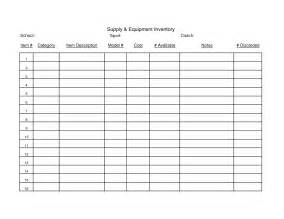 Blank Inventory Sheet Template by Best Photos Of Tool Inventory Sheet Equipment Inventory