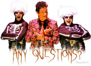 Vinyl Sticker Wall quot david s pumpkins any questions v quot stickers by
