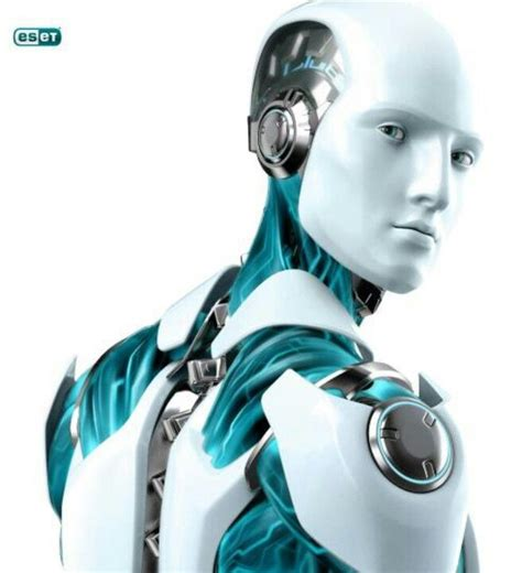 morris robot futuristic 50ml humanoid robot by eset futuristic look