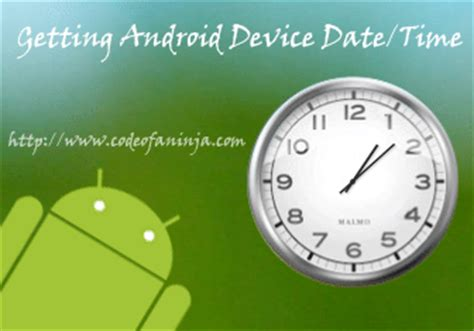 get current date and time in android with calendar or simpledateformat - Android Get Current Time