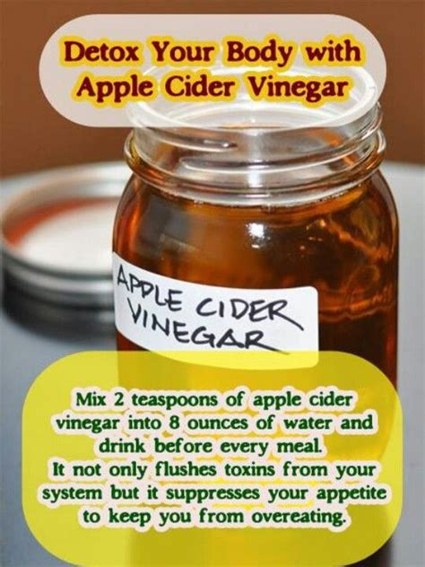 Vinegar Detox Side Effects by 1000 Images About Apple Cider Vinegar On