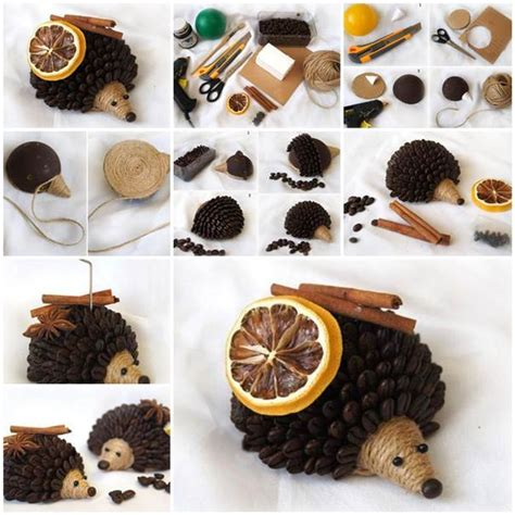 hedgehog home decor diy coffee bean hedgehog