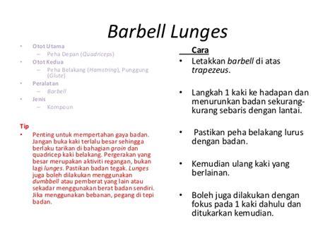 Barbel Kaki bab 5 kecergasan muskular