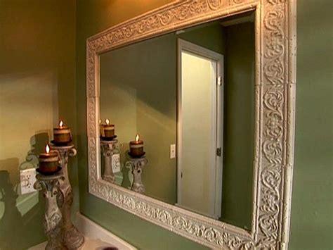 bathroom mirror trim kit decor ideas