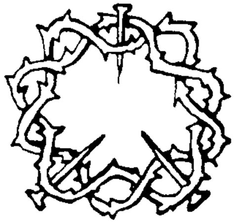 coloring pages jesus crown of thorns jesus christ crown of thorns pictures photos images