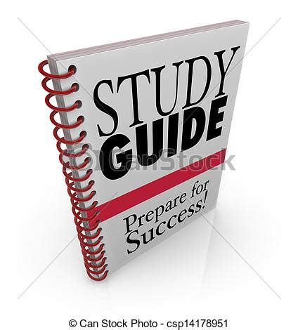a study guide for study guide clipart