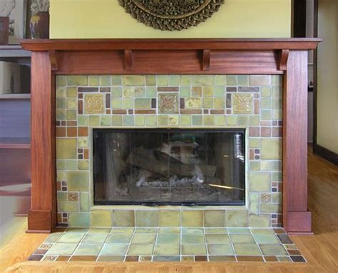 Decorative Tile For Fireplace by Decorative Fireplace Tile Surround Flooring Tiling
