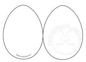 Egg Card Template