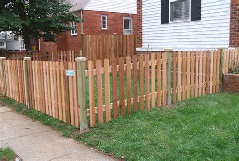 ear fence pickets wood fences expert fence in alexandria virginia