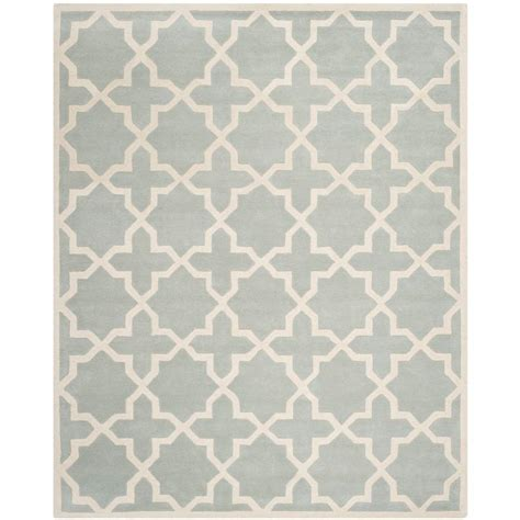 11 X 15 Area Rug Safavieh Chatham Grey Ivory 11 Ft X 15 Ft Area Rug Cht732e 1115 The Home Depot