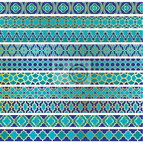 moroccan wall mural wall mural moroccan border patterns decorative