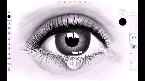 sketchbook pro speed drawing realistic eye speed drawing sketchbook pro for android