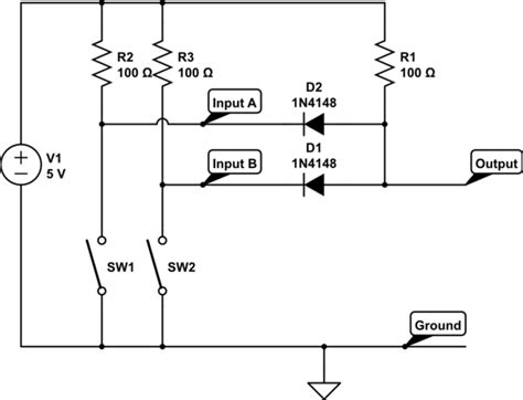 diode circuits gate questions diode circuits gate questions 28 images diodes simple logic gate electrical engineering