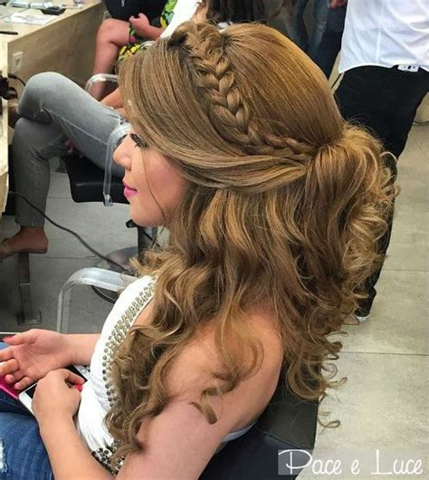 Curled Half Up Half Hairstyles by 50 Half Up Half Hairstyles For Everyday And Looks