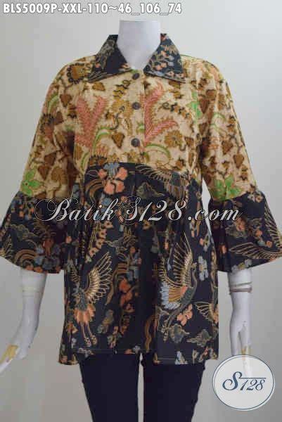 Jual Baju Jumbo Size Jual Baju Kerja Batik Kerah Lancip Size Busasna Batik