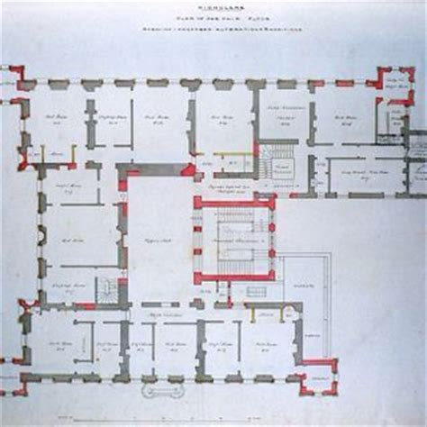 downton abbey castle floor plan floor plan of highclere castle hshire south east