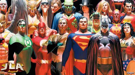 Justice League Of America Jla Superheroes Dc Comics Z0407 Iphone 5 5 justice league george spigot s