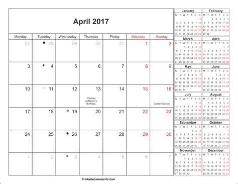 april 2016 calendar printable 2017 printable calendar april 2017 calendar with holidays weekly calendar template