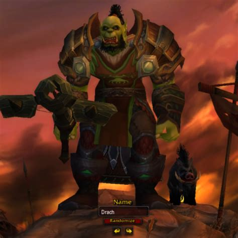Race & faction Change from Draenei to Orc