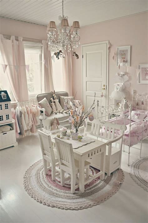 shabby chic kids bedroom decoration