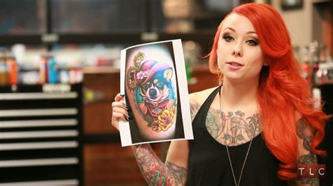 megan massacre s favorite tattoos ny ink youtube