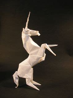 How To Make Origami Unicorn - 1000 images about unicorns and foxes the power of