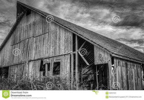 Scheune Usa by Verlassene Scheune Schwarzweiss Bild Stockfoto Bild