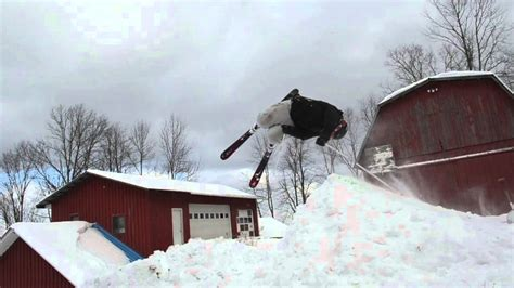 backyard snowboards backyard snowboard jump 2013 youtube