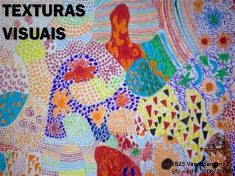 imagenes visuales tactiles texturas visuais authorstream