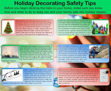 holiday decorating safety tips gillece services