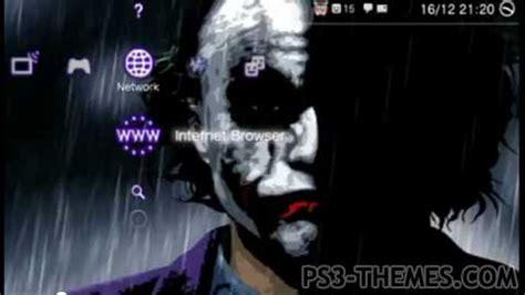 psp themes joker joker themes for ps3