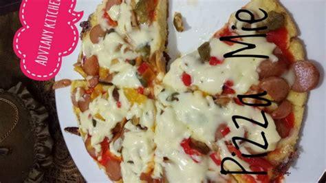 membuat pizza mie instan  oven youtube