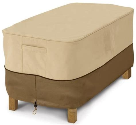 Classic Accessories Veranda Patio Coffee Table Cover Water Resistant Patio Furniture