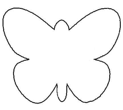 Butterfly Pattern Cut Out