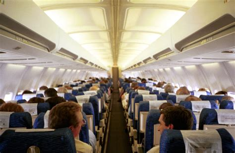Airplane Cabin by Mccaskill Wants Relaxed Cellphone Tablet On