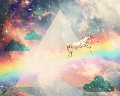 Galaxy Rainbow Deer rainbow unicorn by deerdandy on deviantart
