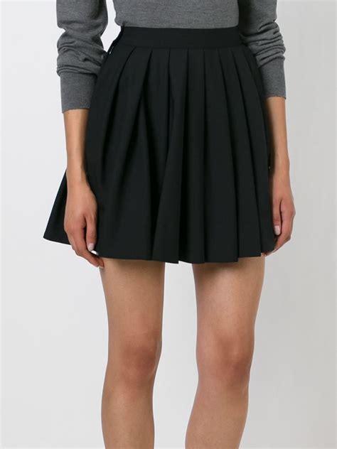 wwwskortmancom mens skirts pleated skirts for men lyst diesel black gold onduly pleated skirt in black