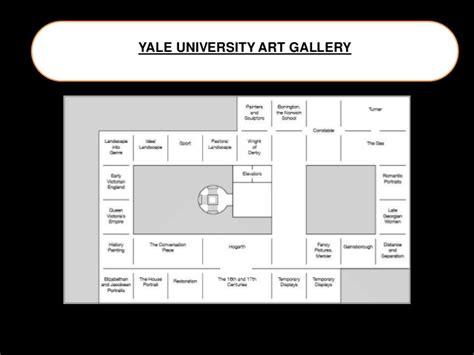 yale university art gallery floor plan louis kahn