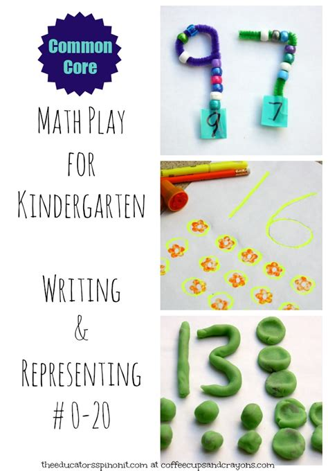 Kindergarten Math {Writing and Representing Numbers 0 20}   Coffee Cups and Crayons