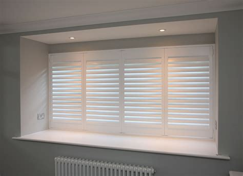 Window Blinds And Shutters White Shutter Blinds Essex White Wooden Shutters