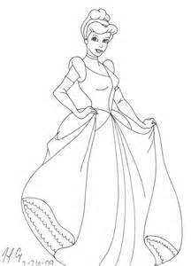 coloring pages princess cinderella bestsellerbookdb